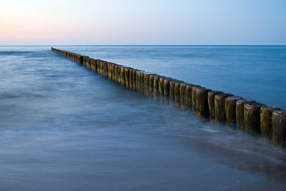 Ostsee Sea Buhnen - Poster and Wallpaper Download