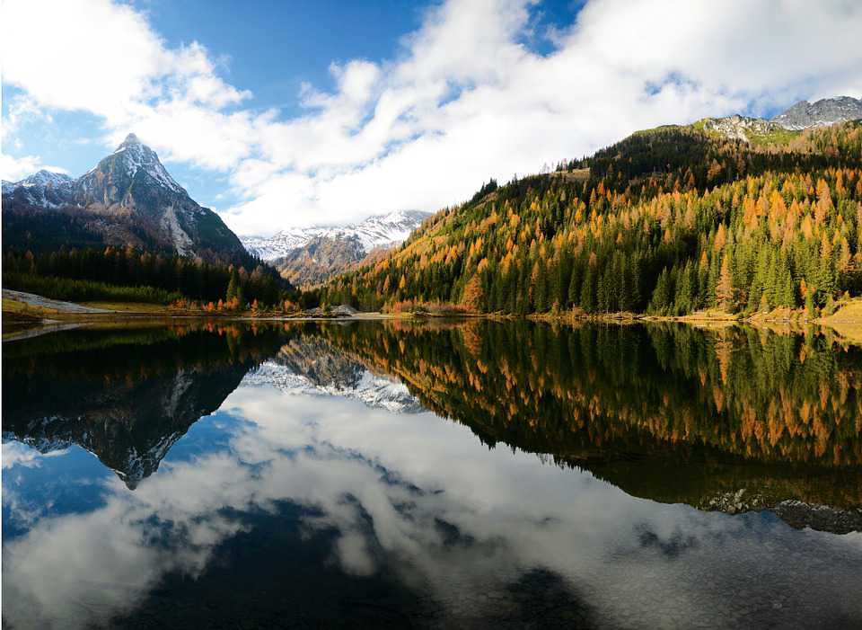 Bergsee Alpen österreich Mountains - Poster and Wallpaper Download