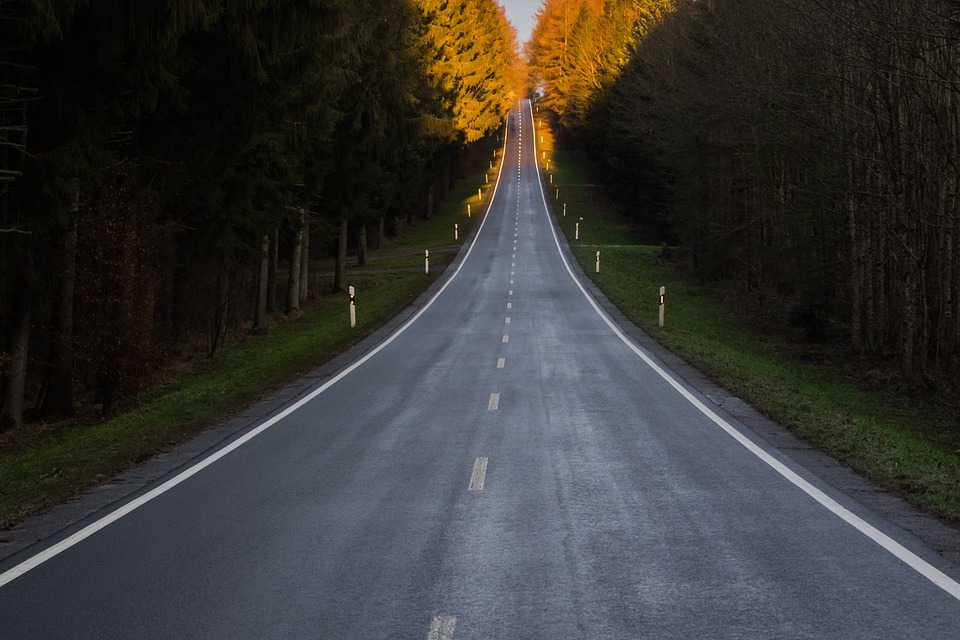 Road Infinite Asphalt Wide Freedom - Poster and Wallpaper Download