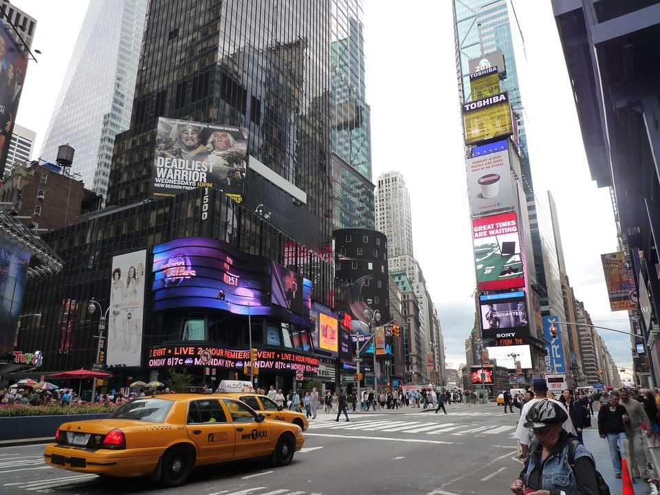USA New York City Nyc Broadway - Poster and Wallpaper Download