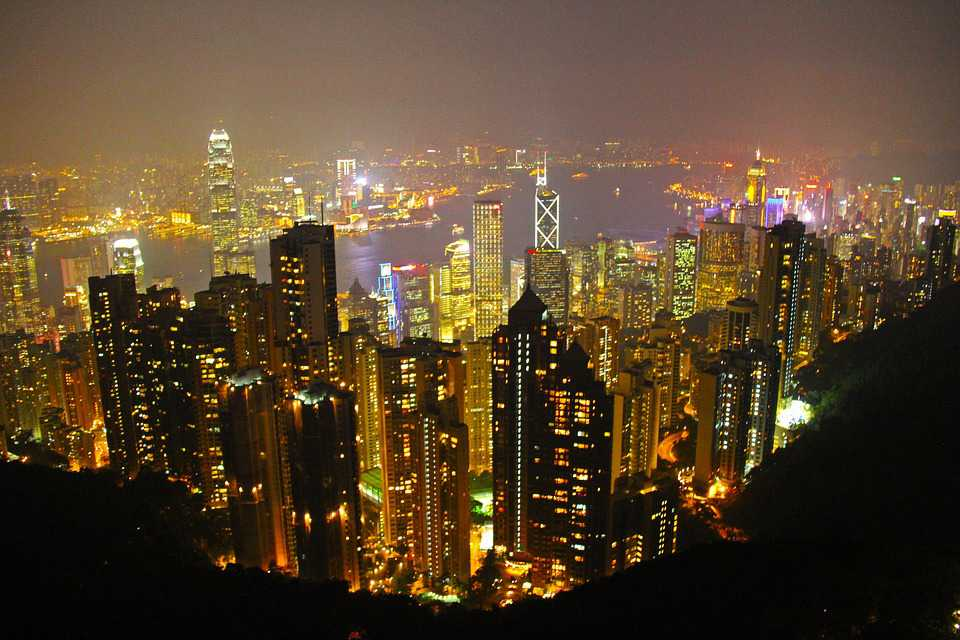 The Peak Hong Kong Scenic Romantic - Poster and Wallpaper Download