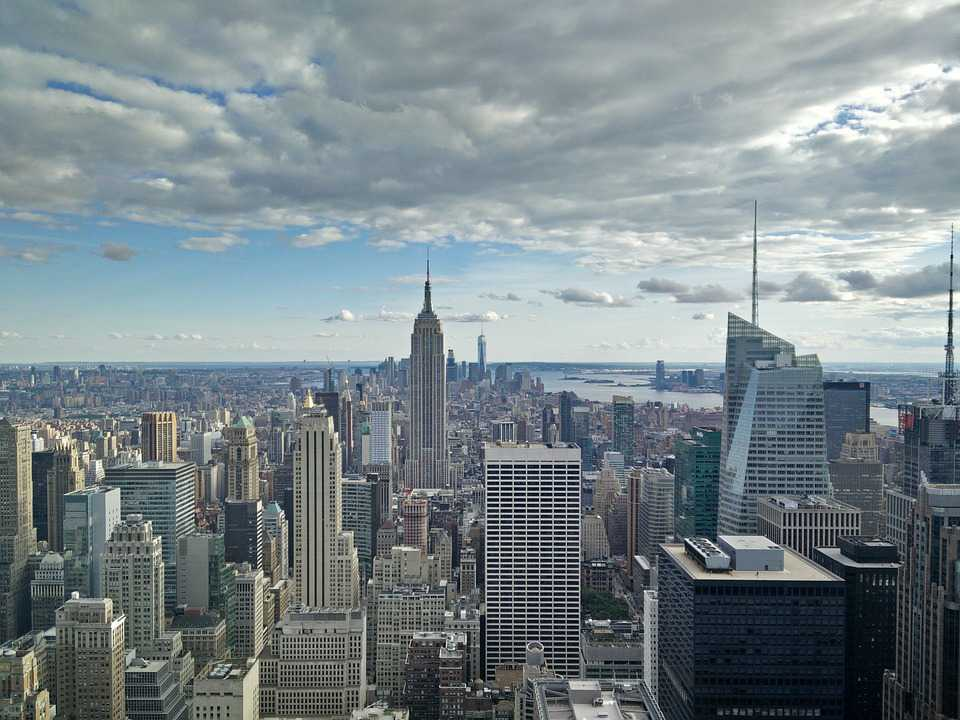 Travel Ausland New York City Rockefeller - Poster and Wallpaper Download