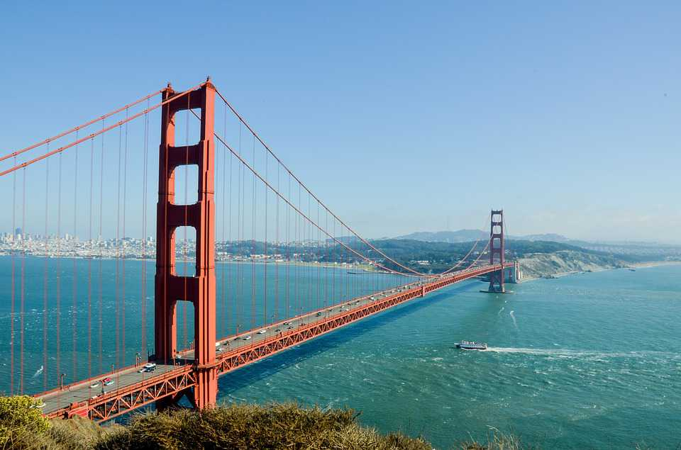 Travel Ausland Golden Gate Bridge - Poster and Wallpaper Download
