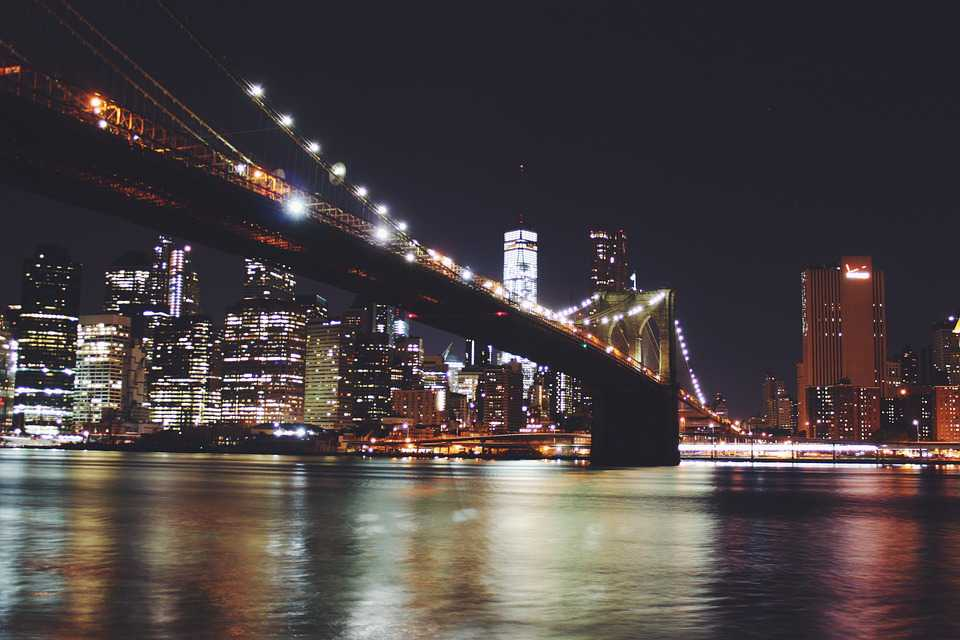 Travel Ausland Brooklyn Bridge - Poster and Wallpaper Download