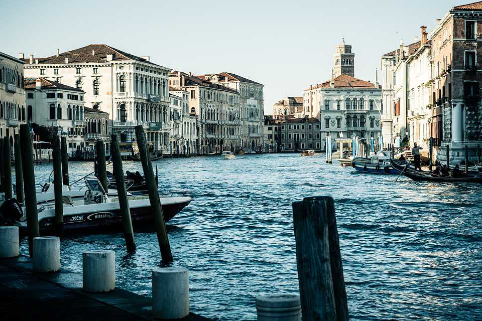 Italy Venedig Kanal Historic - Poster and Wallpaper Download