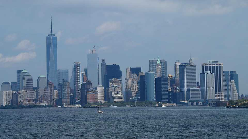 New York Skyline City Hochhäuser - Poster and Wallpaper Download