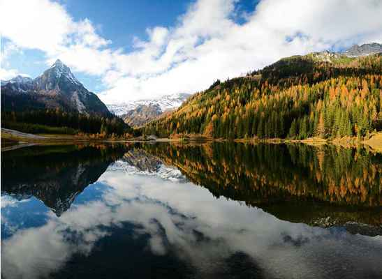 Poster Bergsee Alpen österreich Mountains Download