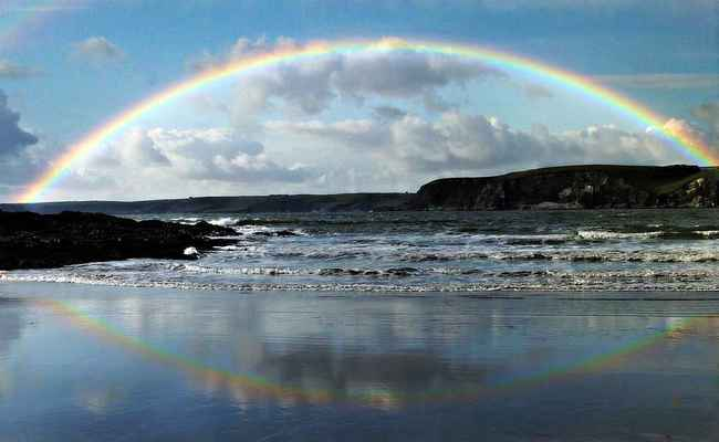 Poster Regenbogen Sea Download