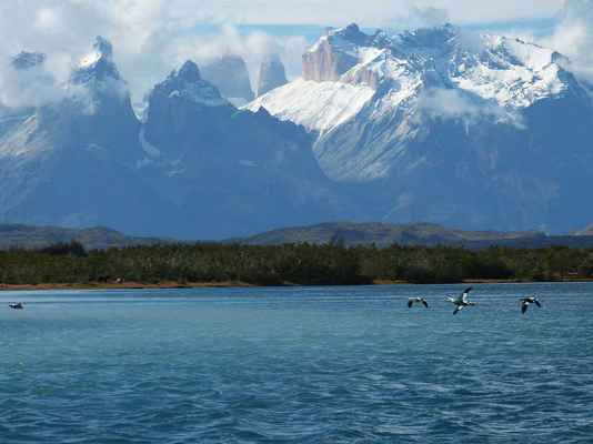 Poster Torres Del Paine Patagonia Chile South America