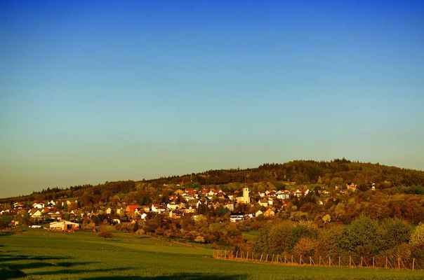 Poster Haintchen Germany Scenic Village Town Buildings Houses Download