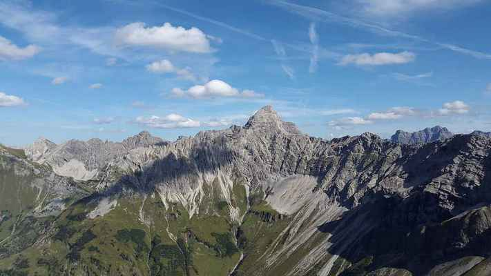 Poster Hochvogel Allgäu Mountains Oberallgäu Alpine Alps Hiking Download