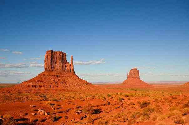 Poster USA America South West Wild Monument Valley