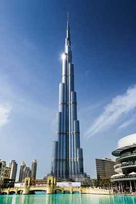 Poster Dubai Tower Arab Khalifa Burj Emirates City