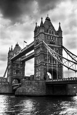 Poster Tower Bridge River London Landmark Thames Architecture Download