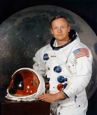 Poster Neil Armstrong Astronaut Space Suit Moon Landing