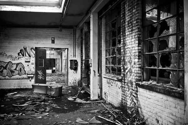 Poster Lost Places Factory Old Leave Industrial Building Download