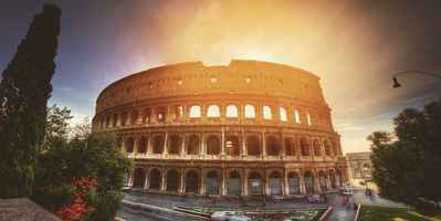 Poster Colosseum Europe Italy Rome Travel Architecture Landmark